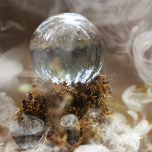 crystal-ball-smoke-magical-accessory-woods-stump-ritual-witches-sorcerers-old-rotten-r-108279434